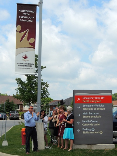"Kemptville District Hospital is ""Exemplary"" according to Accreditation Canada"