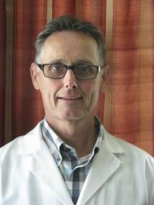 dr leonard in lab coat