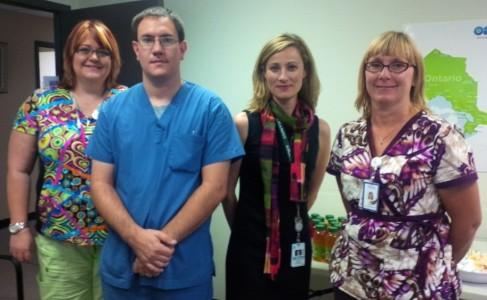 KDH lab staff at celebration