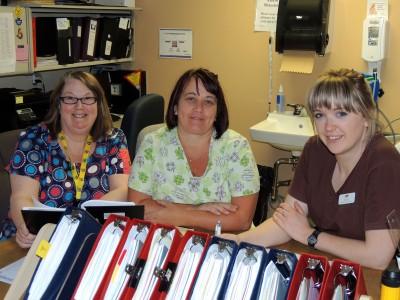 Nursing Week nurses MandS