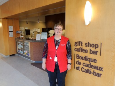 Brenda Steacy is the coffee bar's food manager.